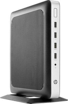 Тонкий клиент HP t630 AMD G-GX-420GI 8Gb SSD 32 Intel HD Graphics Windows 10 черный X4X22AA