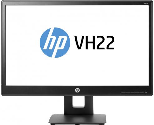 Монитор 21.5 HP VH22 X0N05AA монитор 21 5 hp vh22 черный tn 1920x1080 250 cd m^2 5 ms dvi vga displayport x0n05aa