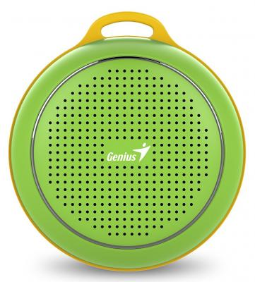 Портативная акустика Genius SP-906BT 3 Вт зеленый