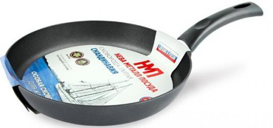 Сковорода Нева-Металл Скандинавия 24 см алюминий NL 1524 сковорода нева металл 22124 24 см алюминий