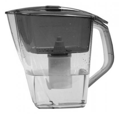 Фильтр для воды Барьер Гранд NEO антрацит с термометром
