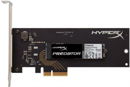 SSD Твердотельный накопитель M.2 960 Gb Kingston Predator PCIe Read 1400Mb/s Write 910Mb/s PCI-E SHPM2280P2H/960G