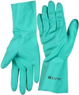 Перчатки Kraftool 11280 нитриловые отвертка kraftool 25550 h10