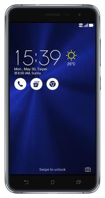 "Смартфон ASUS ZenFone 3 ZE520KL черный 5.2"" 32 Гб LTE Wi-Fi GPS 3G 90AZ0171-M00580"