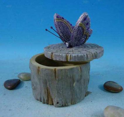 Шкатулка Winter Wings Бабочка 8х8х10 см N161321