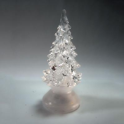 Сувенир ЕЛОЧКА, светящаяся, 10 см, пластик