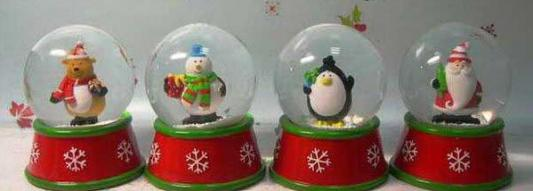 Водяной шар Winter Wings Дед Мороз 8 см N161565