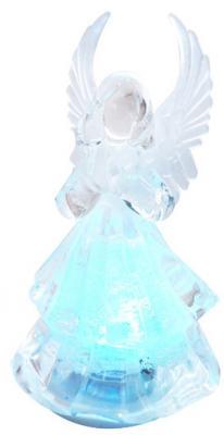 Украшение декоративное АНГЕЛ светящееся со сменой цветов, 4,5*8 см, LED, пластик