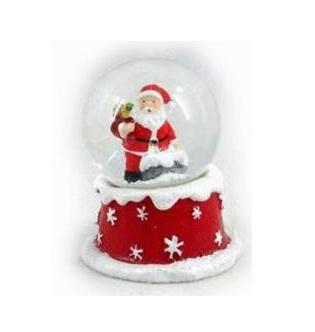 Водяной шар Winter Wings Дед Мороз 6x7 см N163207