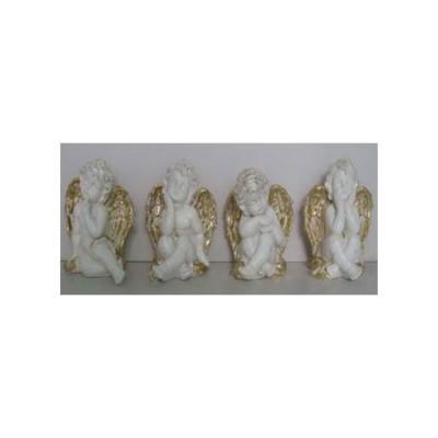 Сувенир АНГЕЛ, 11,5*9,5 см, полирезин, 4 вида