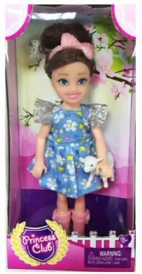Кукла Shantou Gepai Princess Club с питомцем 12 см KW20893 кукла shantou gepai princess club блондинка 12 см kw20895