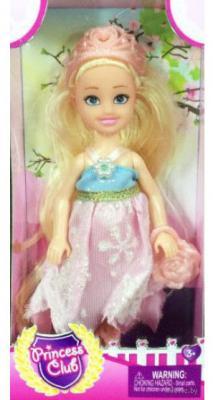 Кукла Shantou Gepai Princess Club - Блондинка 12 см KW20895 кукла shantou gepai early words 9822