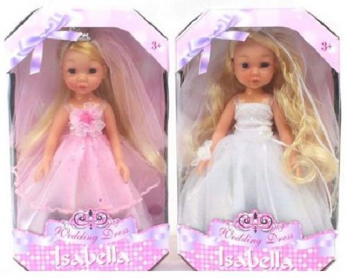 Кукла Shantou Gepai Isabella - Невеста 23 см в ассортименте