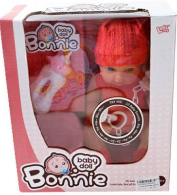 Пупс Shantou Gepai Bonnie 30 см со звуком с аксессуарами