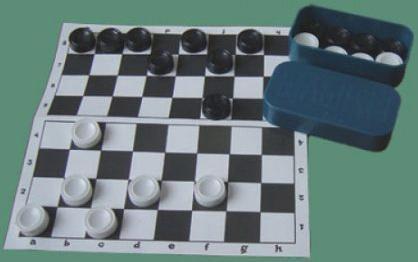Настольная игра Совтехстром русские шашки Шашки с доской У703 игра уфа шашки у703