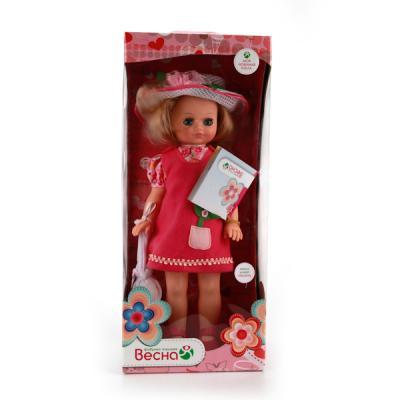 Кукла ВЕСНА Лиза 12 42 см со звуком В2175/о кукла весна лиза 1 озвученная в35 о