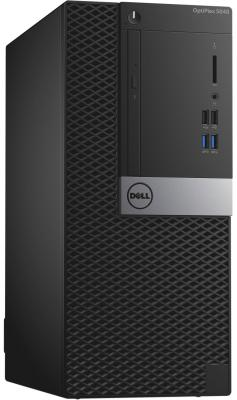 Системный блок Dell Optiplex 5040 MT i5-6500 3.2GHz 8Gb 128Gb SSD HD530 DVD-RW Win7Pro клавиатура мышь черный 5040-9952