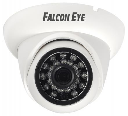 Видеокамера Falcon EYE FE-ID1080MHD/20M CMOS 1/2.8 2.8 мм 1920 x 1080 H.264 MJPEG белый камера falcon eye fe id1080mhd pro starlight 1 2 8 sony exmor cmos imx291 1920 1080 25 fps чувствительность 0 0008lux f1 2 объектив f 3 6 mm