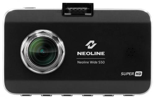 """Видеорегистратор Neoline Wide S50 черный 3"""" Neoline Wide S50 145° microSD microSDHC"""