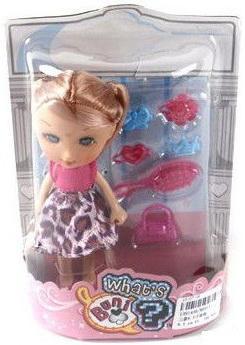 Игровой набор Shantou Gepai Кукла с аксессуарами 7 предметов 86011 стоимость
