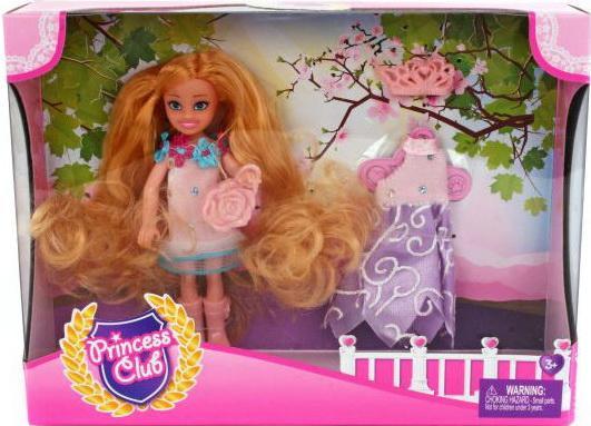 Игровой набор Shantou Gepai кукла Princess Club Мой гардероб 3 предмета KW20913