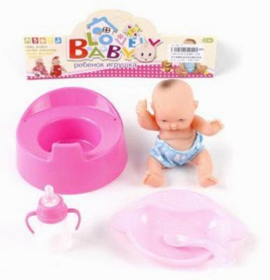 """Игровой набор Shantou Gepai """"Lovely Baby"""" 5 предметов 12580-12H"""