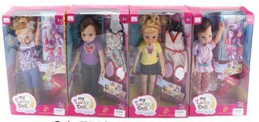 Кукла Shantou Gepai Lucky doll 35 см со звуком 35808