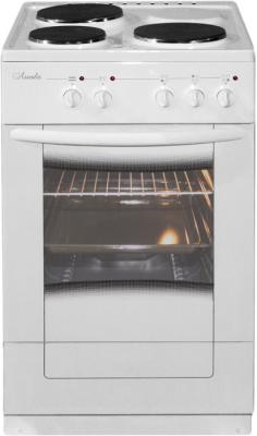 Электрическая плита Лысьва ЭП 301 М2С белый электрическая плита лысьва эп 301 эмаль коричневый [эп 301 brown]