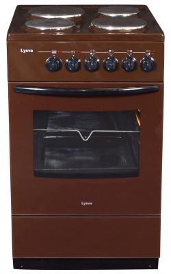 Электрическая плита lzbt ЭП 4/1э3р3 МС коричневый