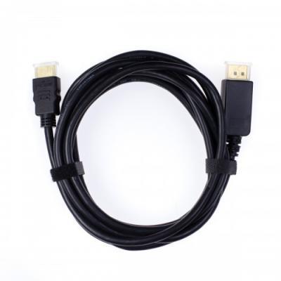 Кабель DisplayPort Vention VAA-T02-B025 круглый черный logan lcd t02 для 13 27 черный