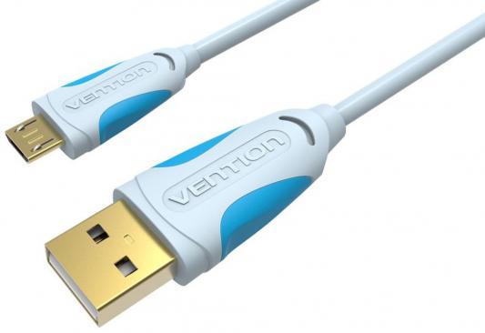 Кабель microUSB 1м Vention круглый VAS-A04-S100 кабель microusb 2м vention круглый vas a04 s200