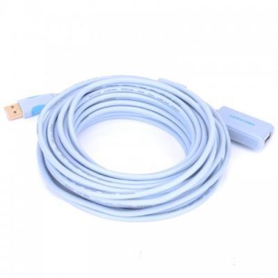 Кабель удлинительный USB 2.0 AM-AF 15.0м Vention VAS-C01-S1500 с усилителем