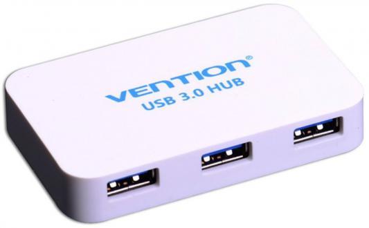 Концентратор USB Vention VAS-J31-W 4 порта USB3.0 белый