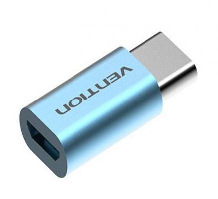 Vention Переходник USB С(m)-microUSB B Vention VAS-S10-S голубой