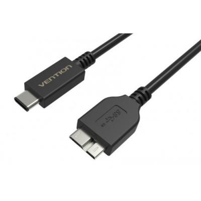Кабель USB С(m)-USB 3.0 micro B 1.0м Vention VAS-A32-B100 черный браслет шамбала бстр 6582