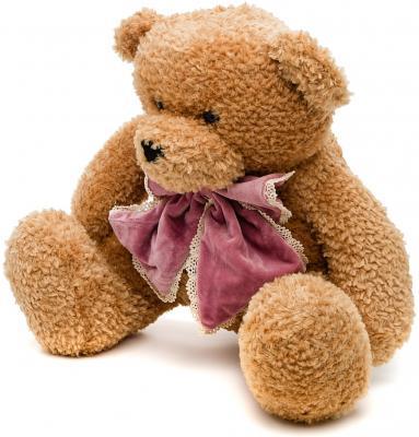 Мягкая игрушка медведь Fluffy Family Денди искусственный мех бежевый 50 см