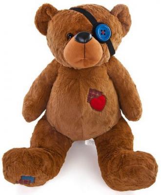 Мягкая игрушка медведь Fluffy Family Влюбленный пират плюш коричневый 50 см