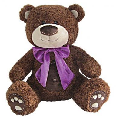 Мягкая игрушка медведь Fluffy Family Мишка Бадди плюш коричневый 50 см