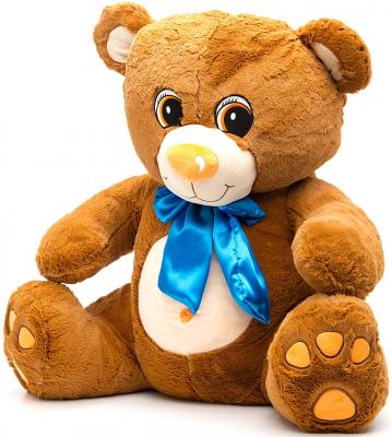Мягкая игрушка медведь Fluffy Family Мишка Тоша 70 см коричневый плюш 681178 fluffy family игрушка божья коровка fluffy family