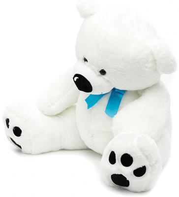 Мягкая игрушка медведь Fluffy Family Умка 80 см белый плюш 681182 fluffy animals
