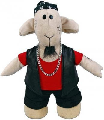 Мягкая игрушка овечка Fluffy Family Овечки челОвечки Роке 30 см бежевый текстиль  681030