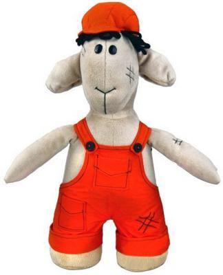 Мягкая игрушка овечка Fluffy Family Овечки челОвечки Мастер текстиль бежевый 30 см