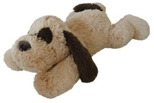 Мягкая игрушка собака Fluffy Family Собака Лежебока текстиль бежевый 65 см 6927346811869