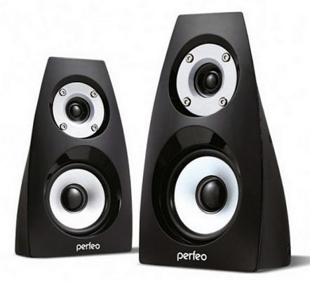 Колонки Perfeo Forte PF-236 2x3 Вт USB черный колонки perfeo mezzo pf 190 2x3 вт usb черный