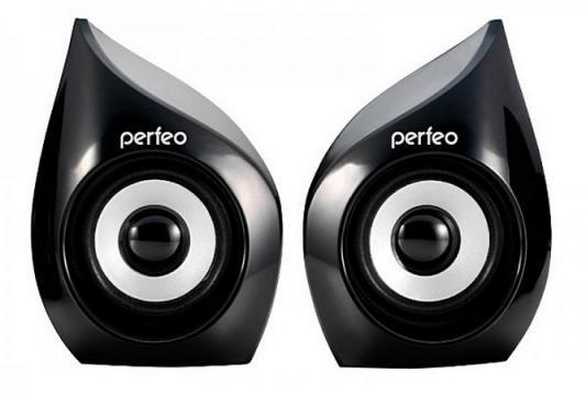 Колонки Perfeo Reflect PF-235 2x3 Вт USB черный