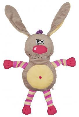 Подушка-игрушка заяц Fluffy Family Заяц плюш серый 60 см 681171
