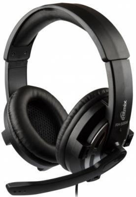 Гарнитура Ritmix RH-515M черный игровая гарнитура проводная ritmix rh 534m черный серый