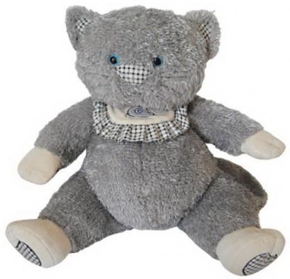 Мягкая игрушка кот Fluffy Family Пузик плюш серый 50 см