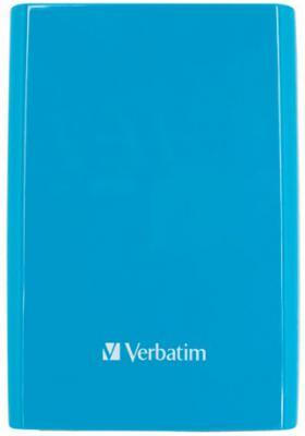 """Внешний жесткий диск 2.5"""" USB3.0 1 Tb Verbatim Store n Go синий 53175"""