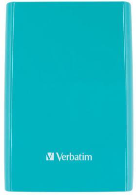"""Внешний жесткий диск 2.5"""" USB3.0 1 Tb Verbatim Store n Go синий 53174"""